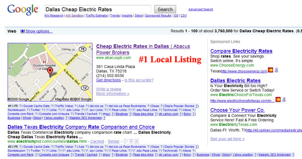 Top Ranking Electric Provider in Dallas