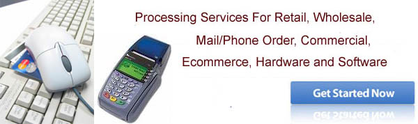 Credit Card Processing and Merchant Account Services and Equipment