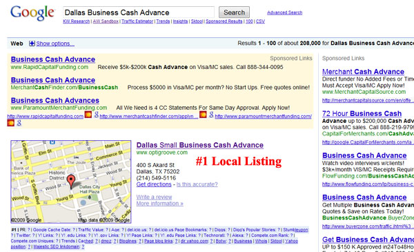 Top Ranking Business Cash Advance Company in Dallas